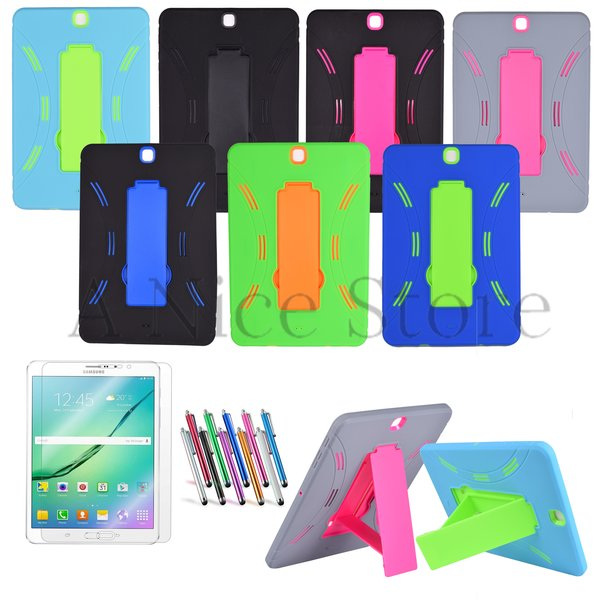 """Samsung Galaxy Tab S2 9.7"""" Hybrid Dual Layer Tablet Case"""
