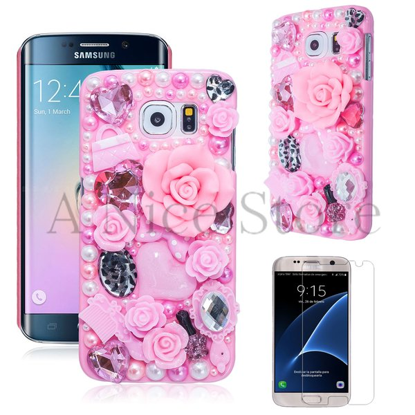 Samsung Galaxy S6 Luxury 3D New Bling Handmade Fairy Tale Case