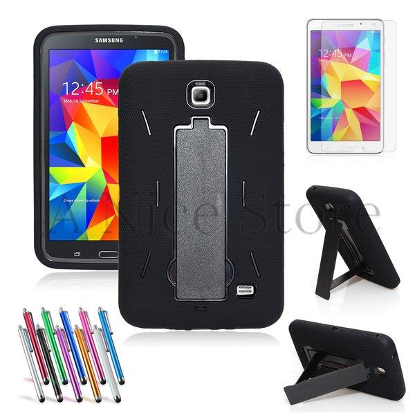 Heavy Duty Rugged Impact Hybrid Case For Samsung Tablet Galaxy Tab 4 7.0 inch (SM-T230)