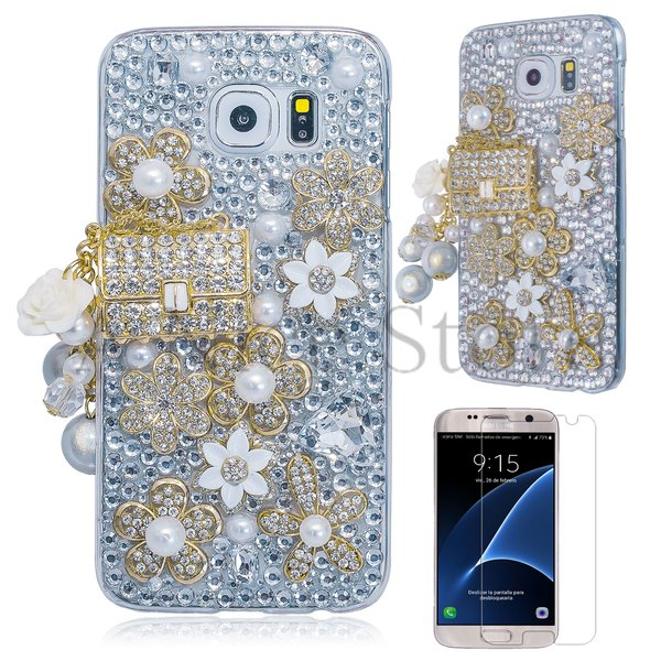 Samsung Galaxy S6 Luxury 3D New Bling Handmade CoCo Bag Design Case