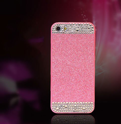 """iPhone 6S/6 Plus Glitter Bling Case, For iPhone 6S/6 Plus 5.5"""", Pink"""