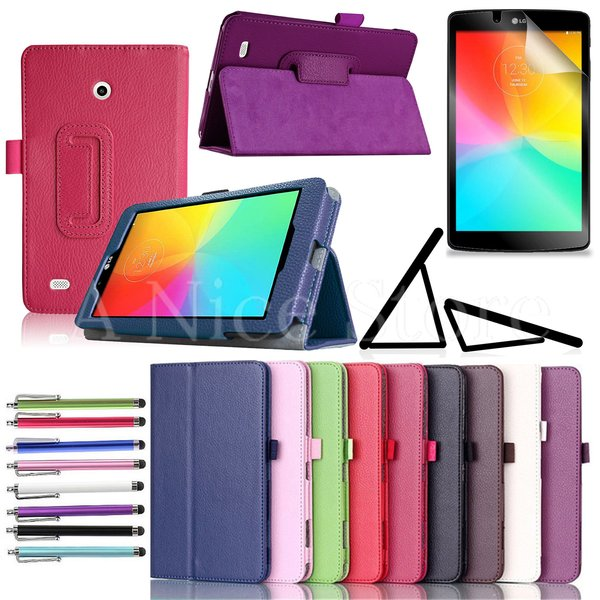 "Lg G Pad F 7.0"" / G Pad 7.0"" PU Leather Cover Case"