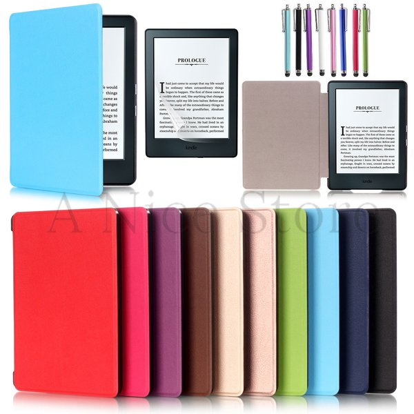 Amazon Kindle E - Reader 8th Generation (2016 Released) Slim Folio Magnetic Case Cover