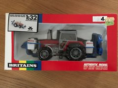 Massey Ferguson 3680 Tractor and Evrard Crop Sprayer Boxed Vintage Britains 9607