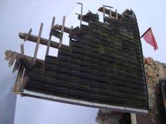 23087 280 x Roofing and Ridge Tiles Grey 1:32 Scale by Juweela