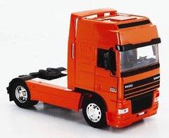 DAF Long Haul Truck Tractor Unit Orange 1:32 Scale NewRay 10843G