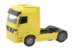 Mercedes-Benz Actros 1857 Long Haul Truck Tractor Unit Yellow 1:32 Scale NewRay 10843E