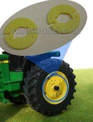 John Deere Wheel Weights 1:32 Scale by Artisan 32 29505