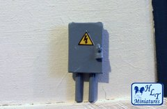 WM064 Fuse Box 1:32 Scale by HLT Miniatures