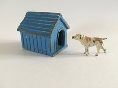 John Hill Dog and F G Taylor Kennel Vintage Lead Circa 1950 1:32 Scale
