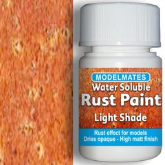 25ml Light Rust Weathering Liquid Any Scale by Modelmates MM49305