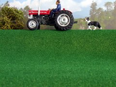 MAT 12L Javis Lush Green Field Grass Mat Any Scale