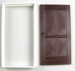 Exterior Door with Casing 1:32/1:35 Scale FB500