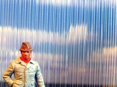 MCD-056-B Transparent Ribbed Sheet Corrugated Plastic by Minia-CN