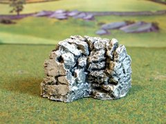 C08D Stone Corner Wall by JG Miniatures 1:32 scale