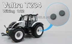 2 x Valtra 9mm Hub Caps to Fit Wiking 1:32 Scale by Artisan 32 29002/VG