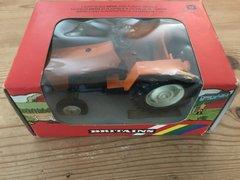 Orange, White Wheels Tractor Boxed Britains 9422