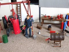 Tool Kit Workshop Accessories 1:32 Scale by Italeri IT419