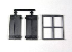 2 x Packs Windows and Shutters 1:32/1:35 Scale FB415