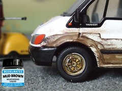 18ml Mud Brown Weathering Liquid Any Scale by Modelmates MM49201
