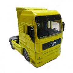 MAN TG18.41A Long Haul Truck Tractor Unit Yellow 1:32 Scale NewRay 10843F