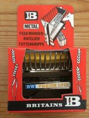 Britains Metal Feed Manger/Hay Rack Mint in Box 1715