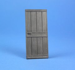 Farmhouse Door with Casing (not shown) 1:32/1:35 Scale FB510