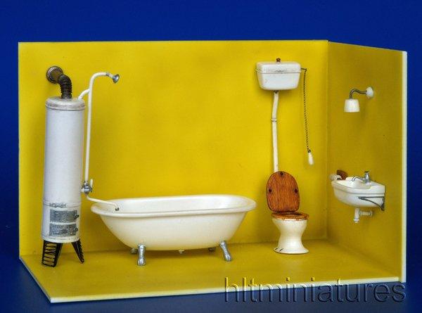Bathroom Toilet Sink Wash Basin Kit 1 32 1 35 Scale