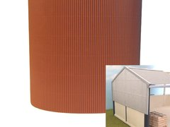 FB036B Brown Corrugated Card 1:32 scale