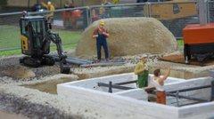 23281 Lime Sand Bricks 3DF Bricks 1:35/1:32 Scale by Juweela