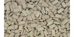 23068 Dark Terracotta Bricks 1:35/1:32 Scale by Juweela