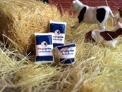 WM005 Calf Milk Replacer Sacks 1:32 Scale by HLT Miniatures