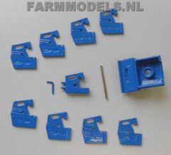 Ford Individual Front Weights and Bracket 1:32 Scale by Artisan 32 20745