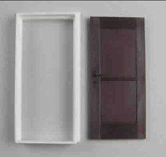 Interior Door with Casing 1:32/1:35 Scale FB505