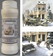 S46i Realistic Plastic Snow by JG Miniatures