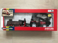 Valmet Logging Tractor and Trailer Boxed Vintage Britains 9627