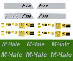 McHale Baler F550 Decals 1:32 Scale by HLT DEC11