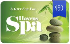 $50 Spa Gift Card