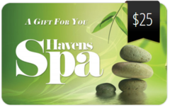 $25 Spa Gift Card