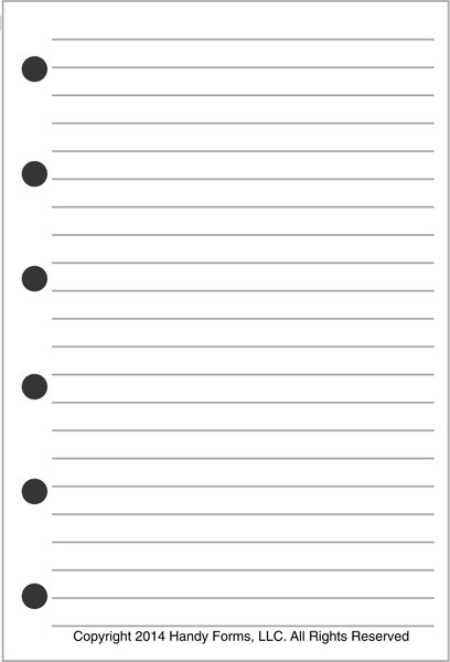 FPK Note Pages