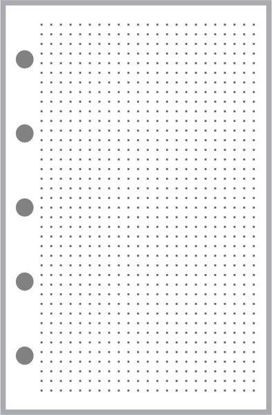 """FMI Dot Grid Paper (0.10"""")"""