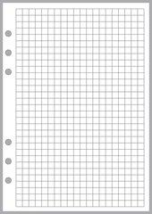 """A5 Graph / Grid Paper (0.25"""")"""