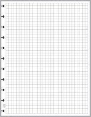 "LVL Graph / Grid Paper (0.25"")"
