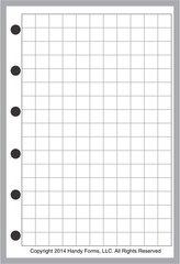 """FPK Graph / Grid Paper (0.25"""")"""