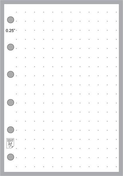 "FPK Dot Grid Paper (0.25"")"