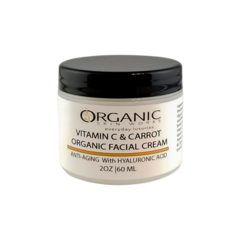 Vitamin C & Carrot with Pomegranate & Rose Face Cream
