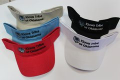 Visor with Kiowa Tribe Logo