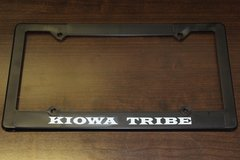 Kiowa License Plate Frame