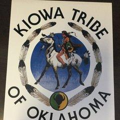 Kiowa Logo Poster