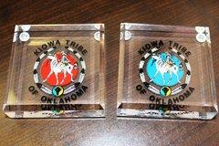 Kiowa Logo Paperweight